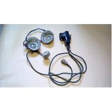LARKSPUR RACAL ACCOUSTICS TANK COMMANDERS HEADSET MICROPHONE PTT ASSY  19PM